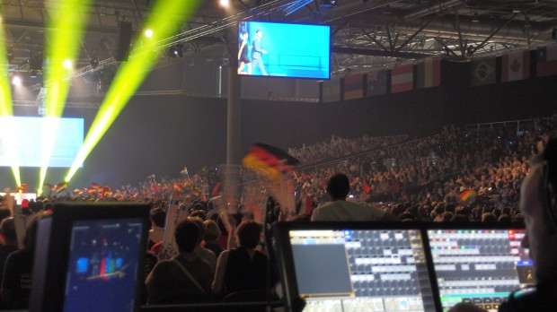 """WorldSkills 2013 – GROVES designs the sound for the """"World Cup of Professions"""""""