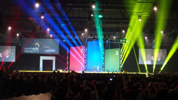 "WorldSkills 2013 – GROVES designs the sound for the ""World Cup of Professions"""
