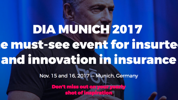 Groves bei der Digital Insurance Agenda 2017 in München