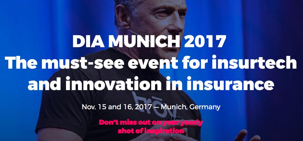 Groves bei der Digital Insurance Agenda 2017 in München