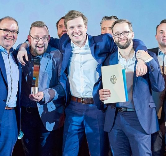 German business film award for DATEV corporate video. Music comes from GROVES.