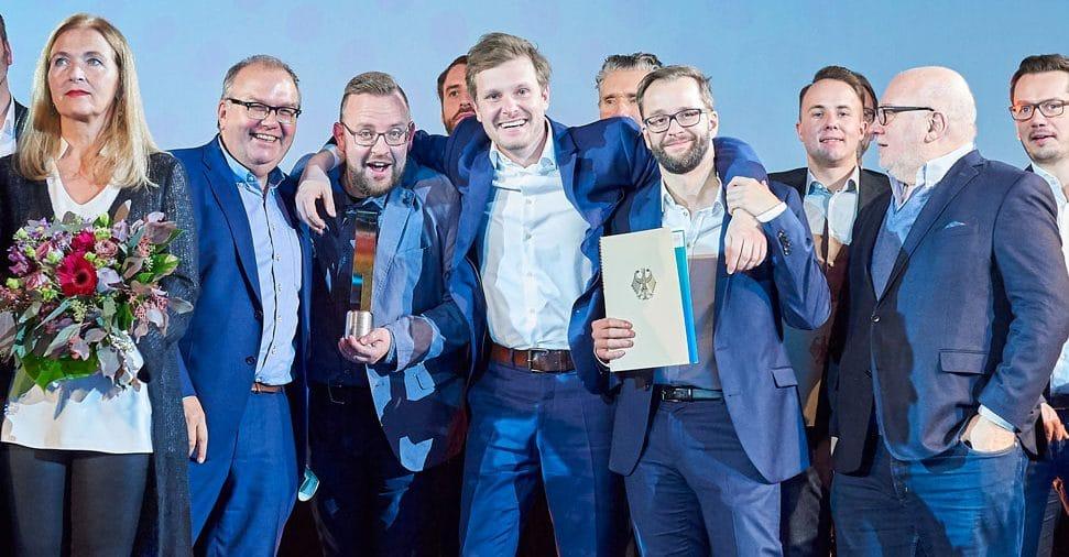 Deutscher Wirtschaftsfilmpreis für DATEV-Imagefilm. Musik kommt von GROVES.