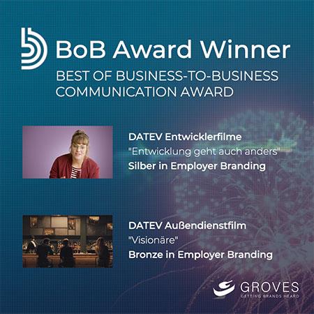 BoB Award für GROVES